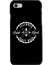 ILLINOIS DRINK LOCAL CRAFT BEER Phone Case thumbnail