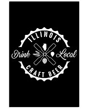 ILLINOIS DRINK LOCAL CRAFT BEER 11x17 Poster thumbnail