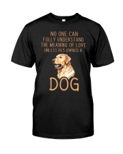 The Meaning of Love Classic T-Shirt front