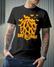 HOPPY HALLOWEEN Classic T-Shirt lifestyle-mens-crewneck-front-6