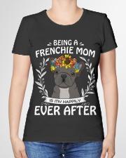 FRENCHIE MOM Premium Fit Ladies Tee garment-premium-tshirt-ladies-front-01