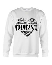 Heart Nurse Crewneck Sweatshirt thumbnail