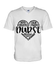 Heart Nurse V-Neck T-Shirt thumbnail
