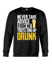 You'll End Up Drunk Crewneck Sweatshirt thumbnail