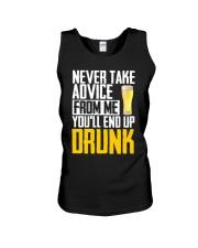 You'll End Up Drunk Unisex Tank thumbnail