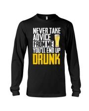You'll End Up Drunk Long Sleeve Tee thumbnail