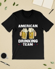 American Drinking Team Classic T-Shirt lifestyle-mens-crewneck-front-19