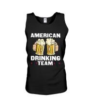 American Drinking Team Unisex Tank thumbnail