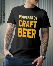 POWERED BY CRAFT BEER Classic T-Shirt lifestyle-mens-crewneck-front-6