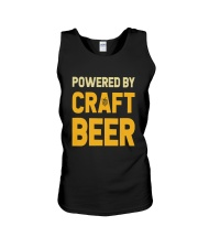 POWERED BY CRAFT BEER Unisex Tank thumbnail