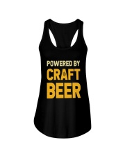POWERED BY CRAFT BEER Ladies Flowy Tank thumbnail