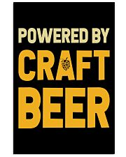 POWERED BY CRAFT BEER 11x17 Poster thumbnail