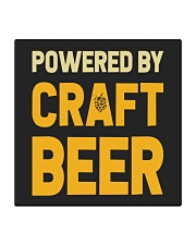 POWERED BY CRAFT BEER Square Coaster thumbnail