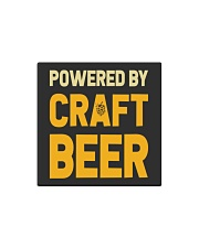 POWERED BY CRAFT BEER Square Magnet thumbnail