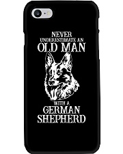 Never Underestimate An Old Man Phone Case thumbnail