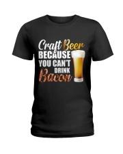 Craft Beer Ladies T-Shirt thumbnail