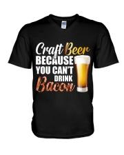 Craft Beer V-Neck T-Shirt thumbnail