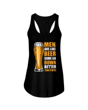 MEN ARE LIKE BEER SOME GO DOWN BETTER THAN OTHERS Ladies Flowy Tank thumbnail