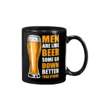 MEN ARE LIKE BEER SOME GO DOWN BETTER THAN OTHERS Mug thumbnail
