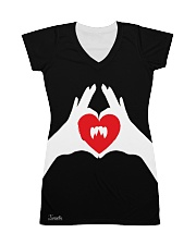 Xmortis Vampy Valentines 2020 MERCH All-over Dress front