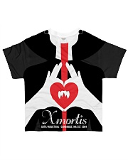Xmortis Vampy Valentines 2020 MERCH All-over T-Shirt thumbnail