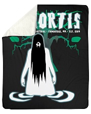 "Xmortis Swamp Witch Tees Sherpa Fleece Blanket - 50"" x 60"" thumbnail"