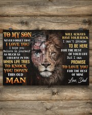 To My Son 17x11 Poster aos-poster-landscape-17x11-lifestyle-14