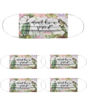 Cactus Mask Cloth Face Mask - 5 Pack front