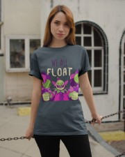 WE ALL FLOAT - CIRCUS CLOWN SCARY  Classic T-Shirt apparel-classic-tshirt-lifestyle-19