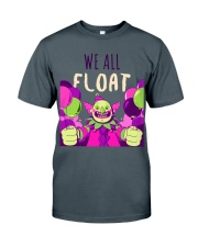 WE ALL FLOAT - CIRCUS CLOWN SCARY  Classic T-Shirt front