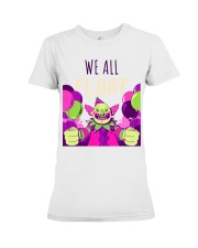 WE ALL FLOAT - CIRCUS CLOWN SCARY  Premium Fit Ladies Tee thumbnail