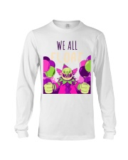 WE ALL FLOAT - CIRCUS CLOWN SCARY  Long Sleeve Tee thumbnail