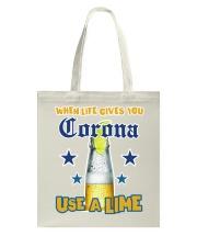 When LIFE gives you CORONA use a LIME Tote Bag thumbnail