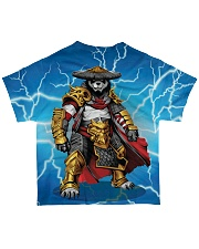 SAMURAI PANDA All-over T-Shirt back