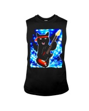 Cat Guitar Shirt Rock Band Tshirts Epic Solo Conce Sleeveless Tee thumbnail