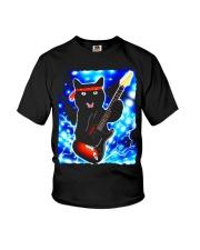 Cat Guitar Shirt Rock Band Tshirts Epic Solo Conce Youth T-Shirt thumbnail