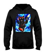 Cat Guitar Shirt Rock Band Tshirts Epic Solo Conce Hooded Sweatshirt thumbnail