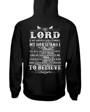 LORD - 1 DAY LEFT Hooded Sweatshirt back
