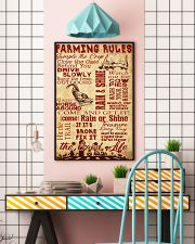 Farming Rules - 1 DAY LEFT 11x17 Poster lifestyle-poster-6
