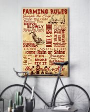 Farming Rules - 1 DAY LEFT 11x17 Poster lifestyle-poster-7