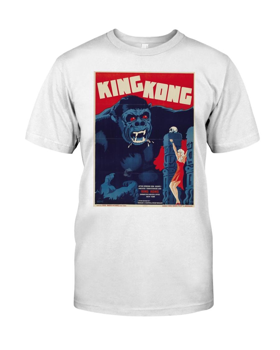 Vintage King Kong t-shirt skull island t-shirt Classic T-Shirt
