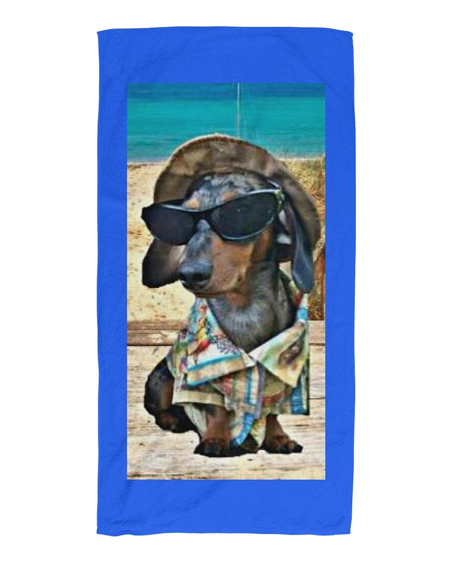 Beachin' it with Hank Beach Towel