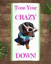 Matilda Beach towel Beach Towel aos-towelbeach-vertical-front-lifestyle-1
