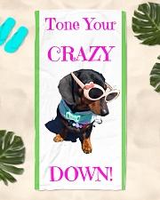 Matilda Beach towel Beach Towel aos-towelbeach-vertical-front-lifestyle-2