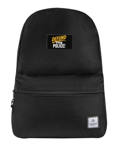 Defund the police backpack