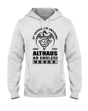 ALTHAUS-awesome legend Shirt Hooded Sweatshirt thumbnail