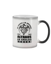 ALTHAUS-awesome legend Shirt Color Changing Mug thumbnail