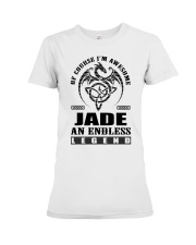 JADE-awesome legend Shirt Premium Fit Ladies Tee thumbnail