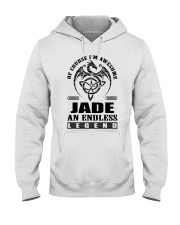 JADE-awesome legend Shirt Hooded Sweatshirt thumbnail