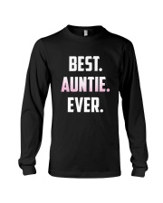 Best Auntie Ever T-Shirt Great Gift For Favorit Long Sleeve Tee thumbnail